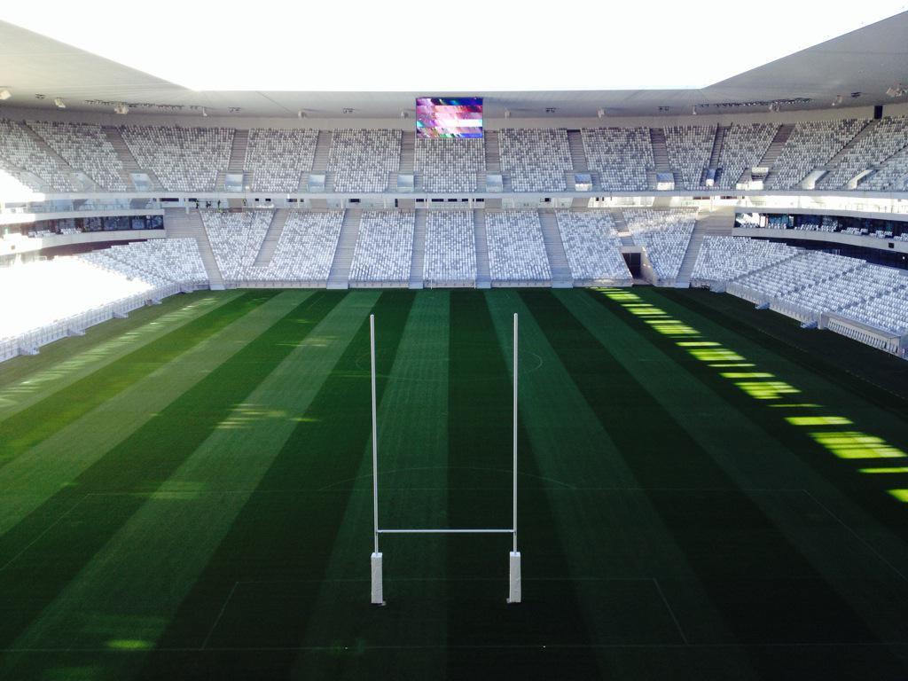 Le Nouveau Stade en mode rugby
