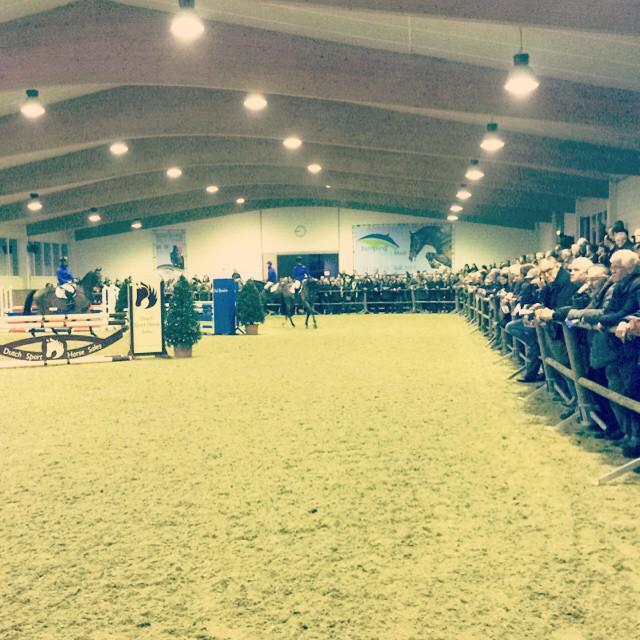 Succesvolle hengstenshow van Stal Hendrix. Equine MERC verzorgde de presentatie van de avond met ruim 900 bezoekers. http://t.co/2wHmJCgcp0