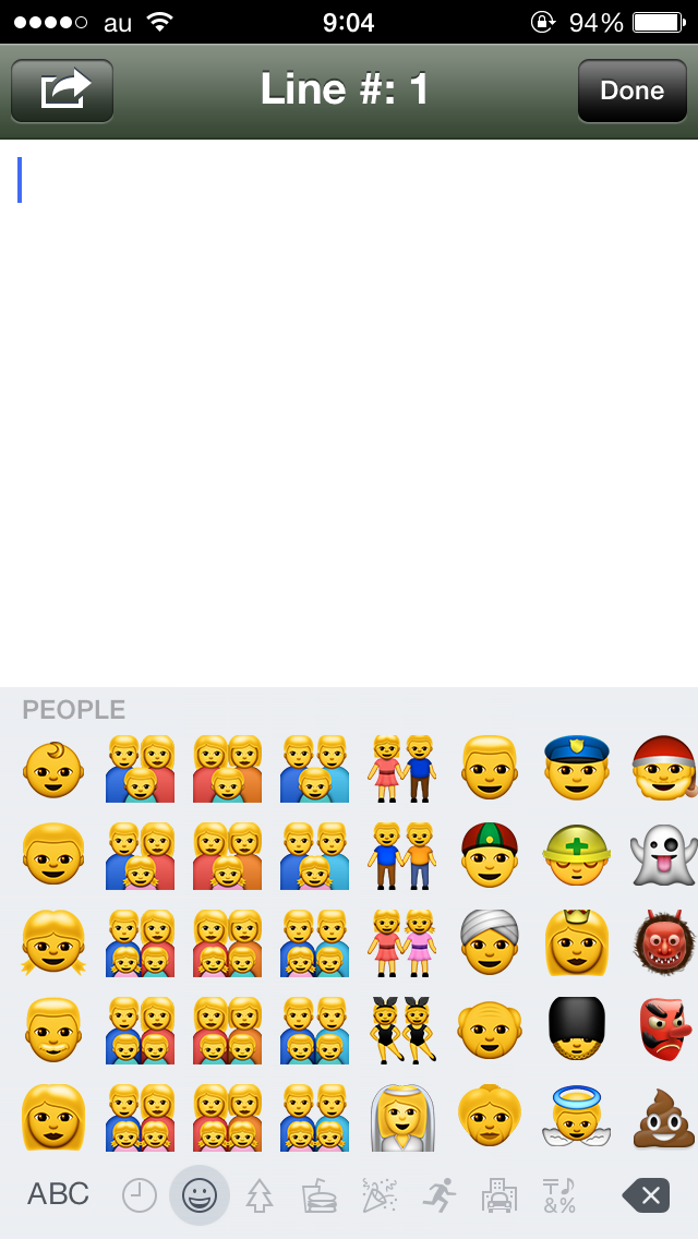 新しいemoji、アジア人の顔色よ… http://t.co/8s6vZh3gN8