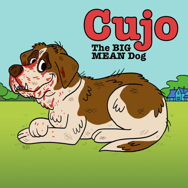 halloween costumes on twitter cujo the big mean dog clifford the big red dog fact stephenking rabiesisterrifying httptcobzn4c99oku - Clifford The Big Red Dog Halloween Costume
