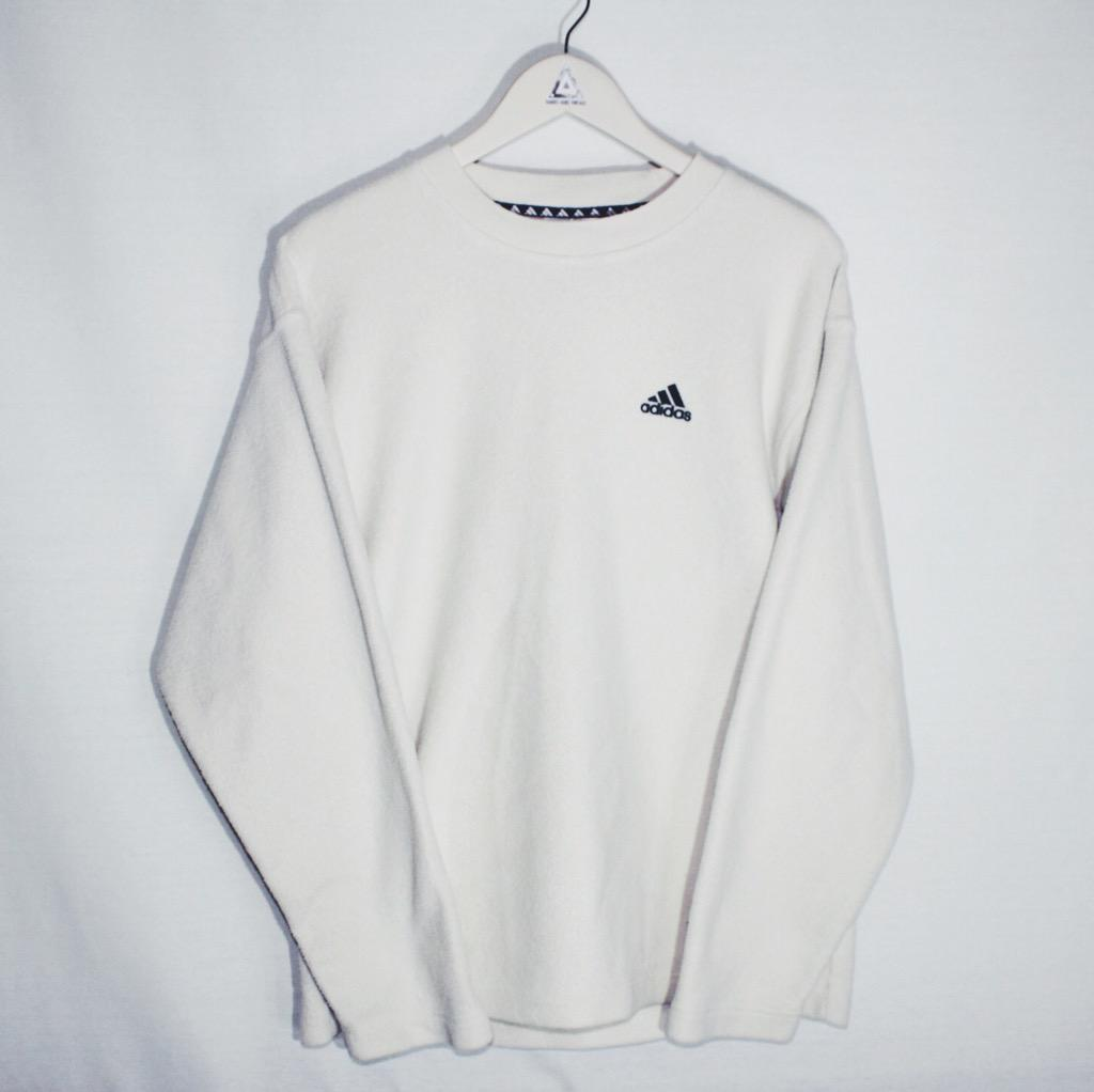 adidas fleece jumper