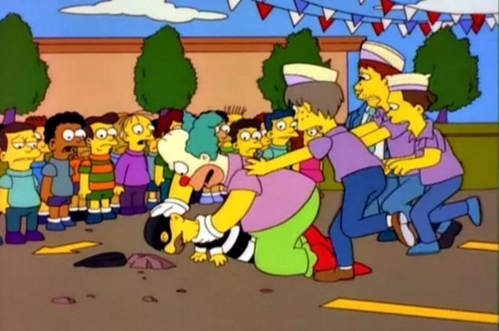 Stop, Stop! He's already dead!