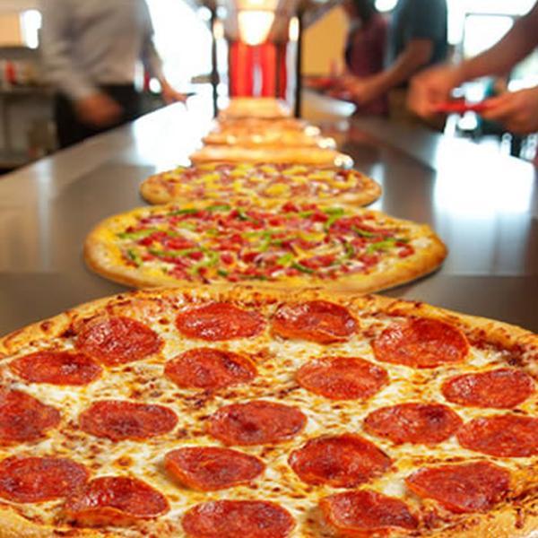 Resultado de imagen para mucha pizza