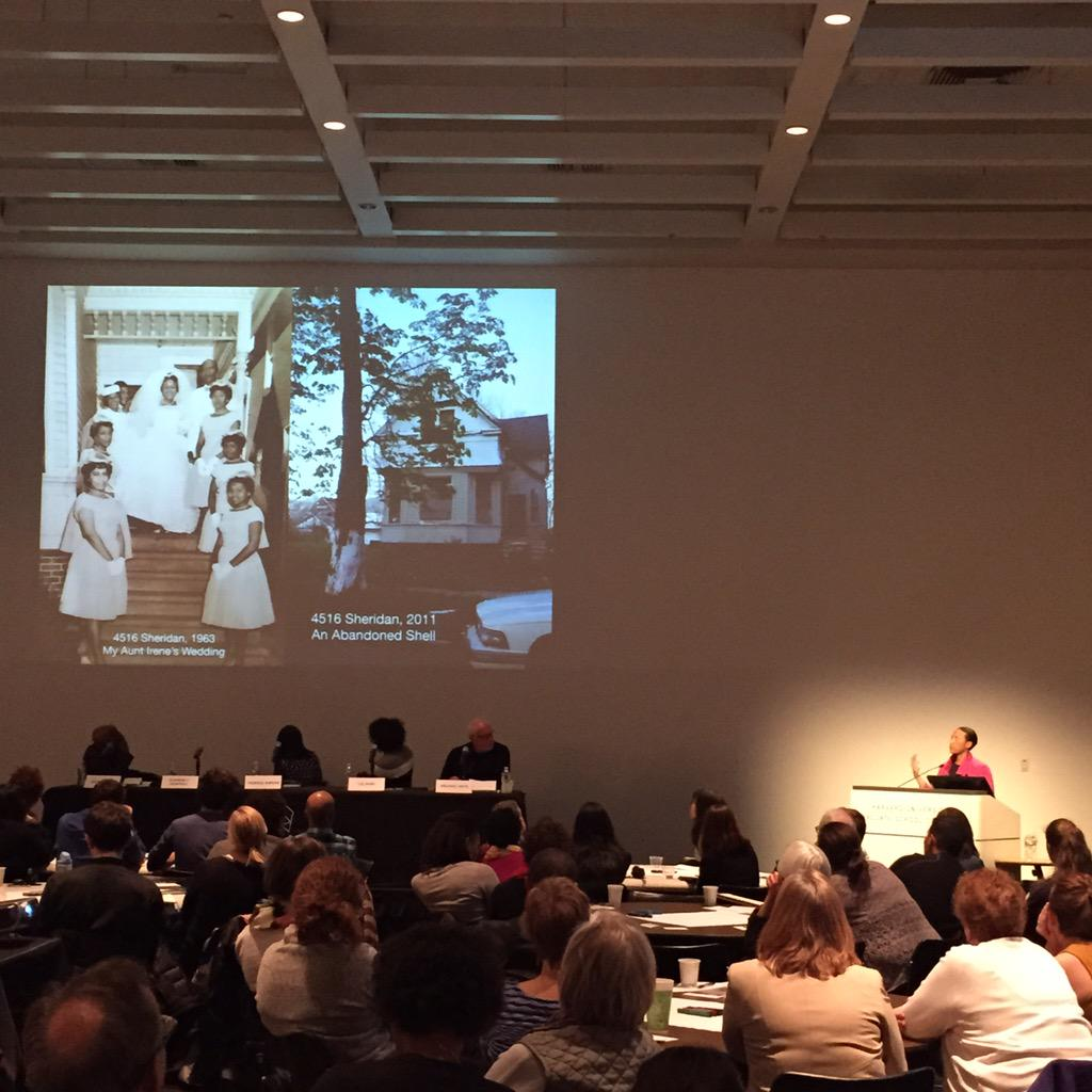 Kimberly Dardell: born in Detroit; family house was eventually abandoned, destroyed #informingjustice @HarvardGSD http://t.co/HNWT9VNWNg