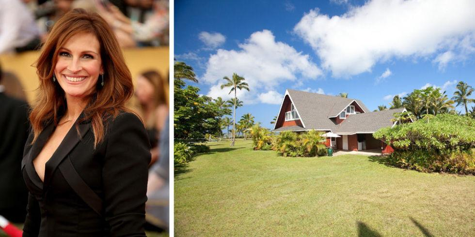 Julia Roberts' Hawaiian vacation home proves she is the coolest star: http://t.co/Ieol8gyJuC http://t.co/T5pnDgtQJT