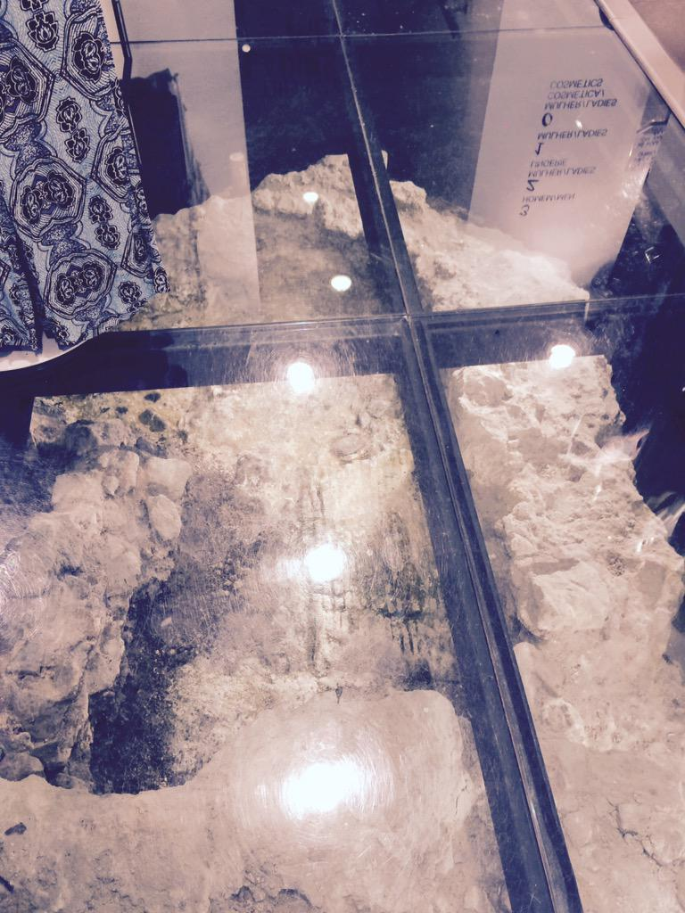 Ardingly Classics On Twitter Found Ruins Of Roman Wall Under Glass