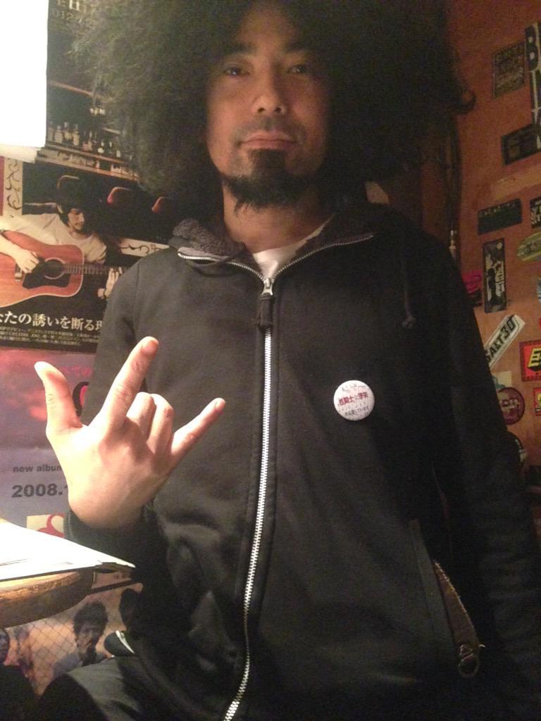 """豊島""""ペリー来航""""渉も性闘士☆準矢を応援してます! http://t.co/XLZxkE5KVr"""