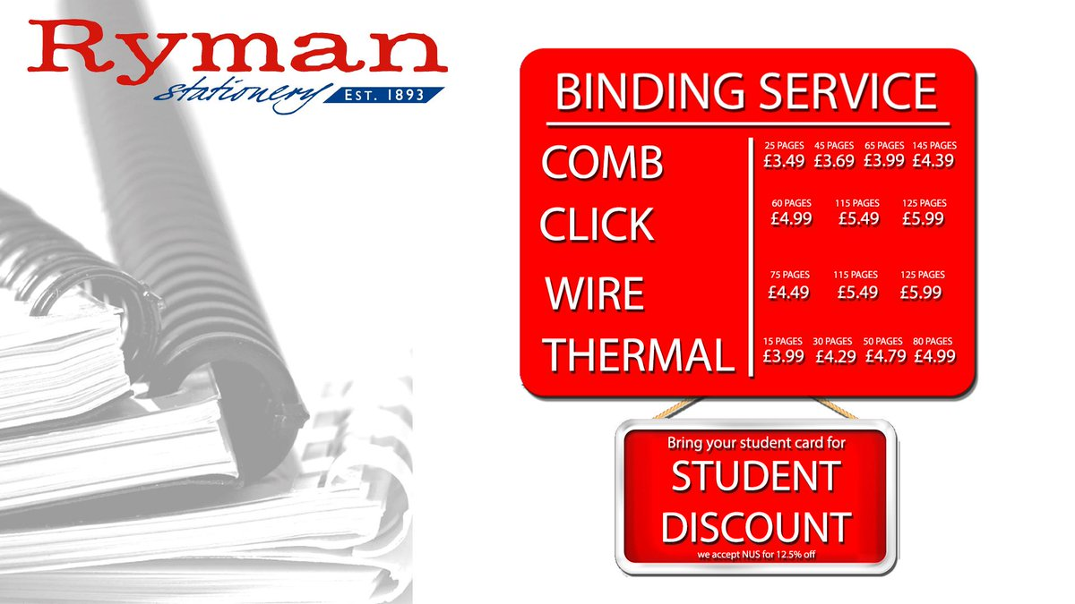 dissertation binding service birmingham Thesis binding and dissertation binding specialist the only on line thesis service in the uk to offer you an all inclusive binding & gold lettering service.