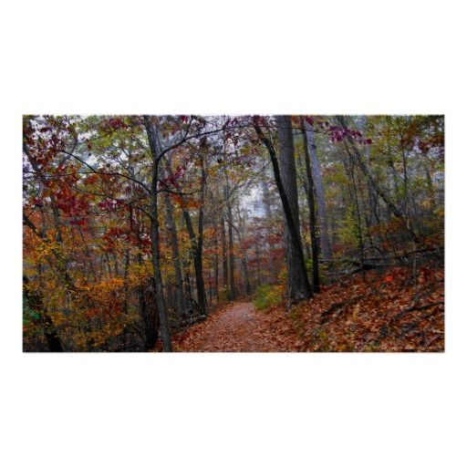 Misty #Trail in the Colorful #Autumn #Forest #Poster https://t.co/m9l4hGbWCo https://t.co/6QYzV4R8kb #Hiking