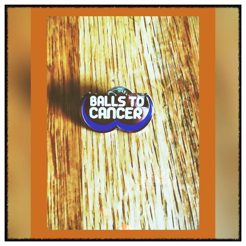 Give testicular cancer a #RealityCheck by checking your balls this April @Ballstocancer Thanks for the badge!