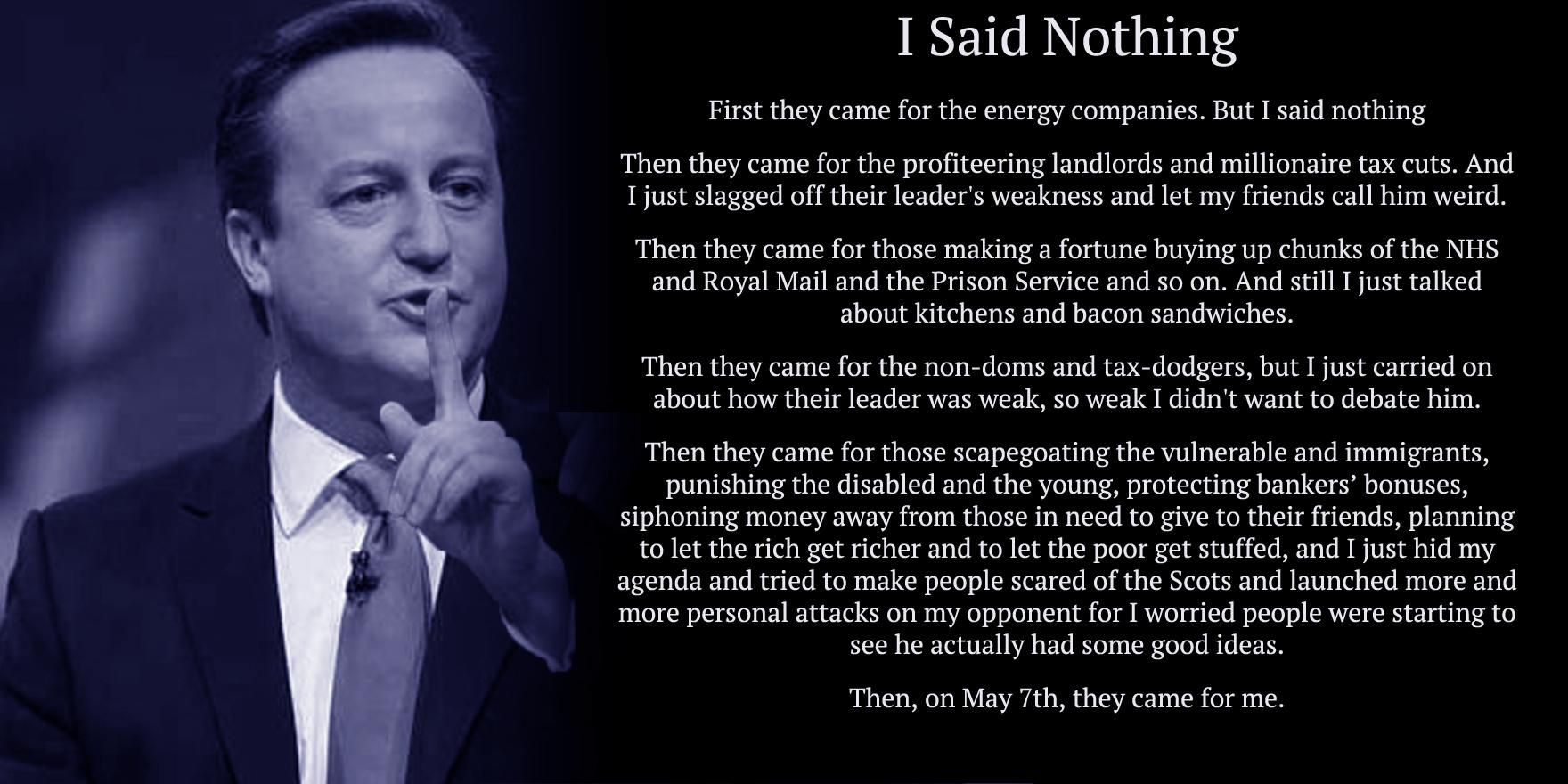 Is David Cameron a moron from the outer reaches of the universe? (Part 2) - Page 10 CCKgDM0W0AAcmd8