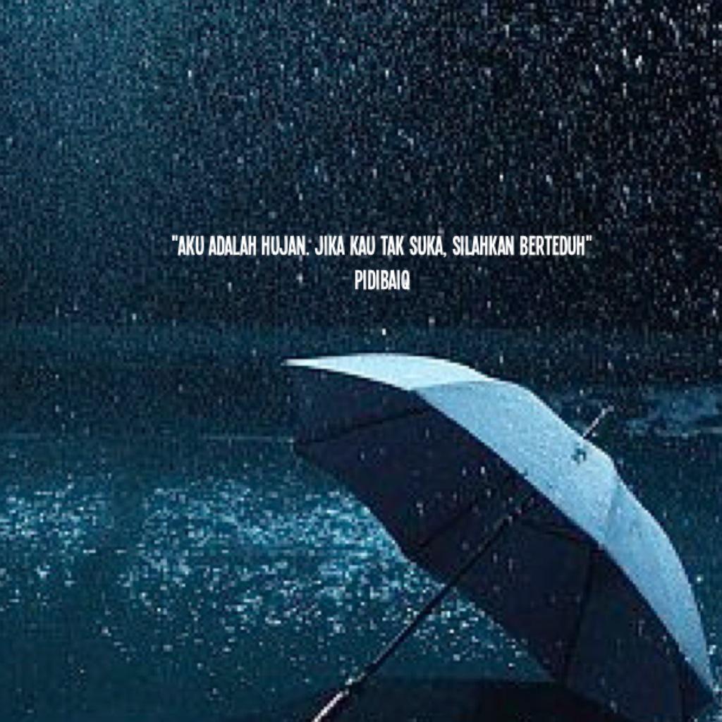 Pidi Baiq on Twitter: \u0026quot;Banjir bukan disebabkan oleh hujan