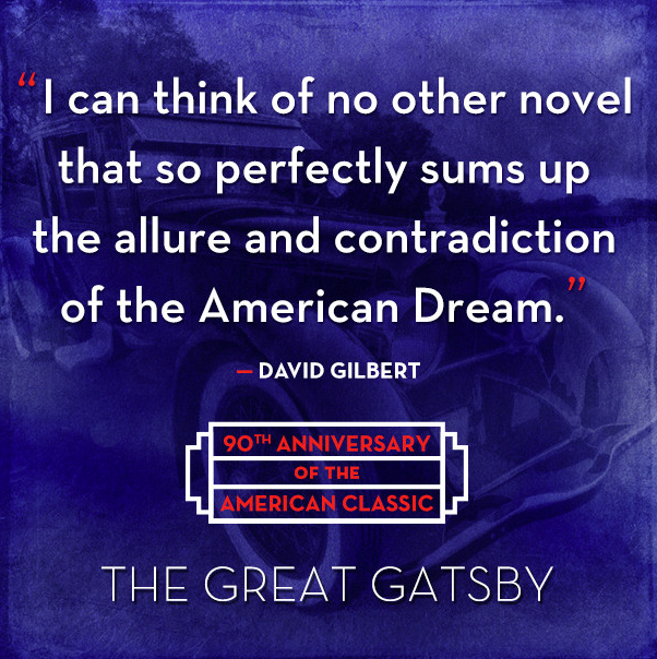 Retweet for a chance to #win a #Gatsby90 tote bag! (Rules: http://t.co/GRnY3Ynh9p) #AmericanDream http://t.co/YiaITqT37D