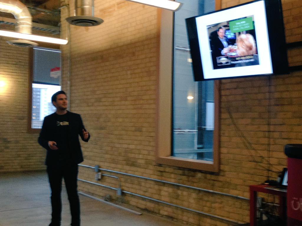 .@kentf talking about BIG CRO at @Uberflip for #CROday in Toronto cc @unbounce http://t.co/qkv80LwMvH