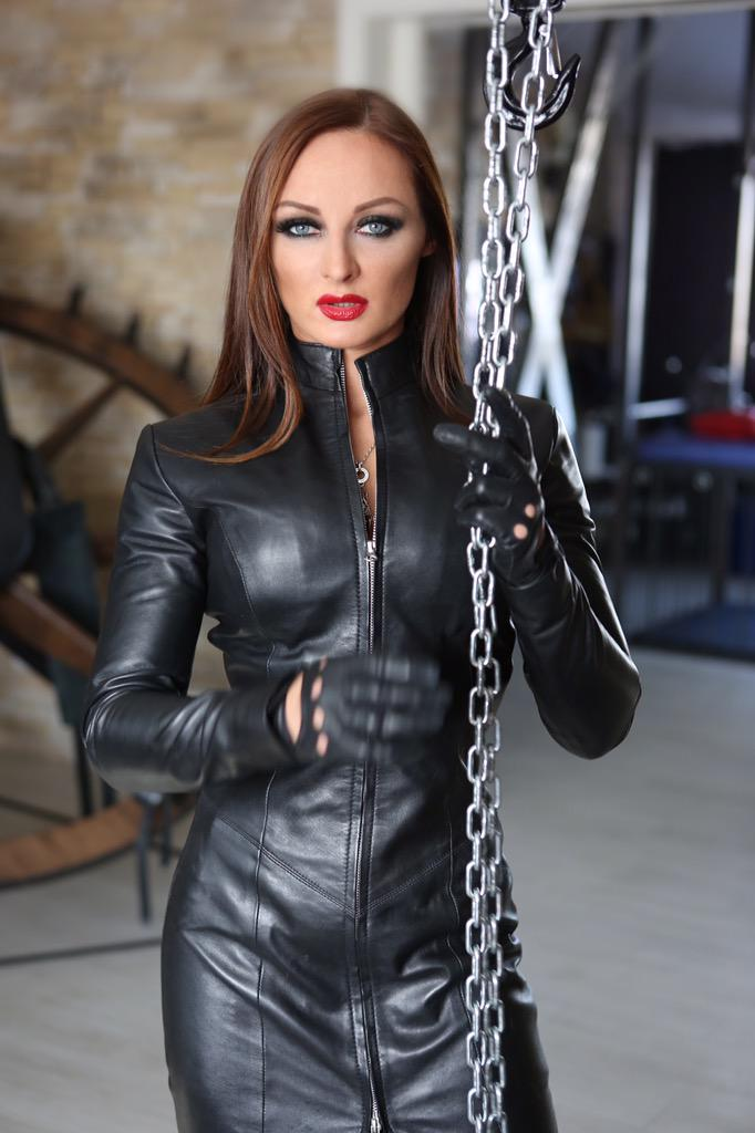 image Mature herrin carmen shiny latex catsuit german rubber mistress