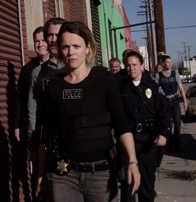 First look at #TrueDetectiveSeason2 shows #TaylorKitsch and #RachelMcAdams in action. http://t.co/MsINUpEgfd