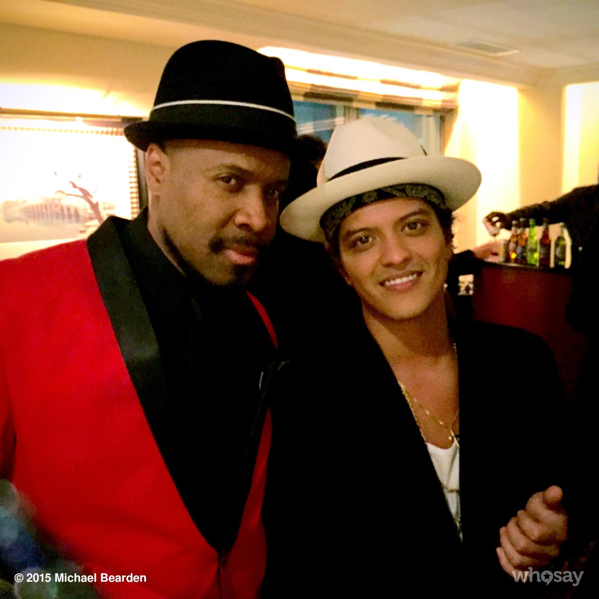 Of all the current artists I've worked with, Bruno Mars is one of my faves. Always nice to work with truth! M~ #tbt http://t.co/ePhZd91CX3