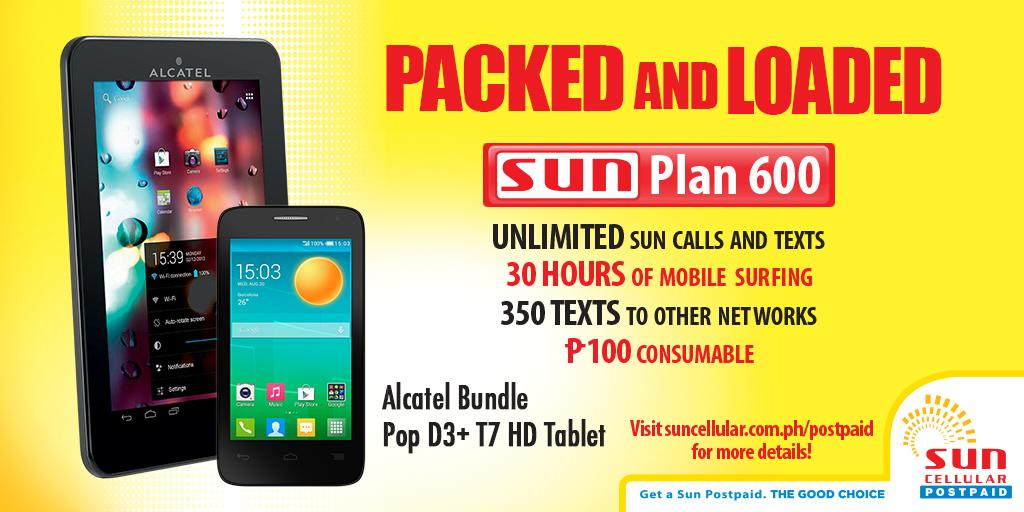 Sun cellular on twitter get 2 free devices with just 1 for Sun mobile plan
