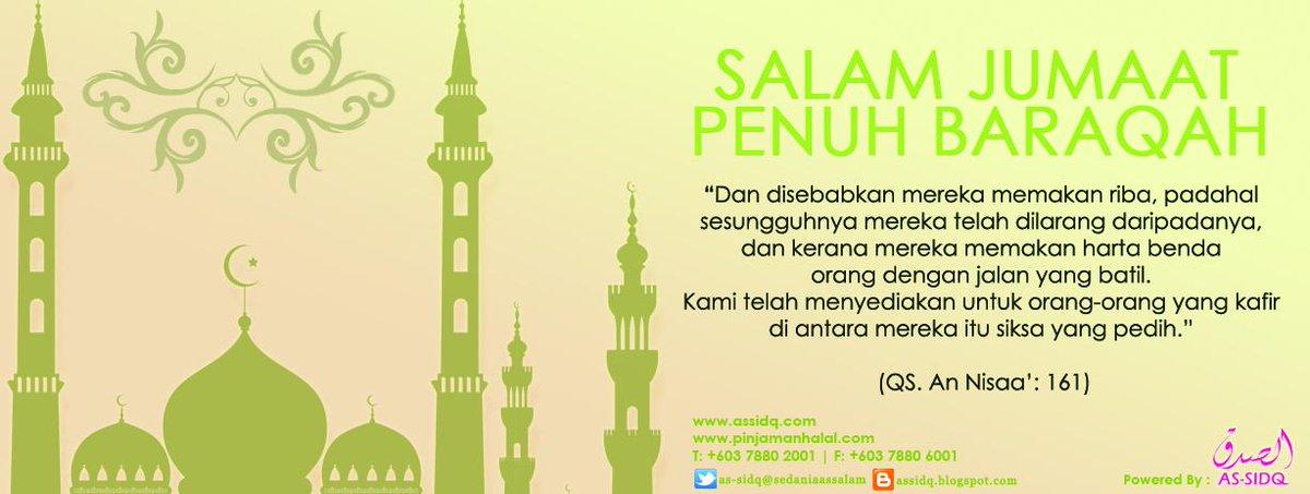 Salam Jumaat Baraqah | Sedania As Salam Capital Sdn Bhd