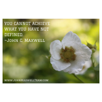 Image for the Tweet beginning: You cannot achieve what you