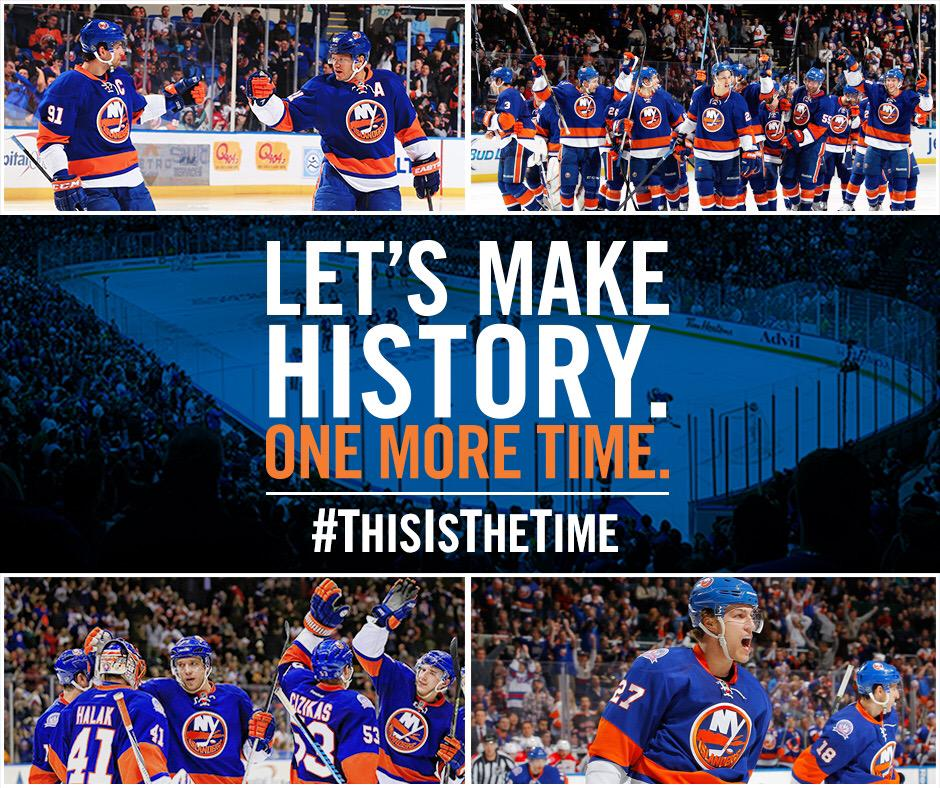 Due to Boston's loss tonight, the #Isles have clinched! We're headed back to the playoffs! http://t.co/bTcFzaZrZk