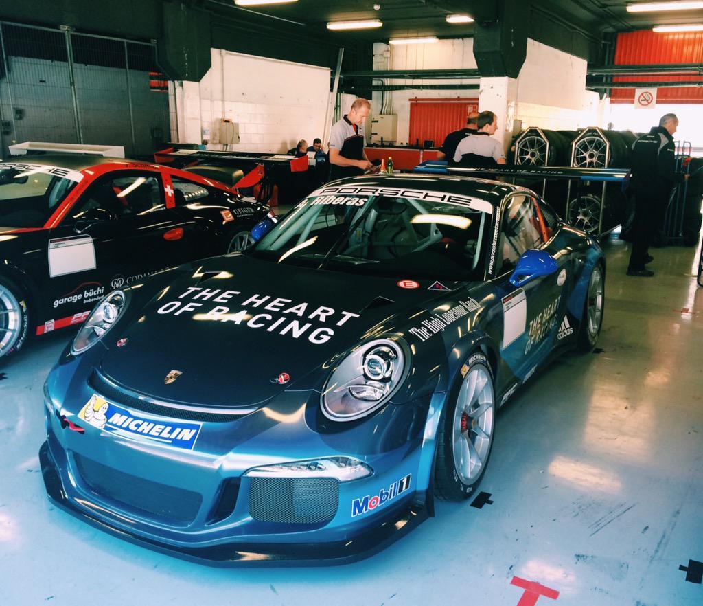 "Supercup: Alex Riberas On Twitter: ""P4 In Our First #Porsche"