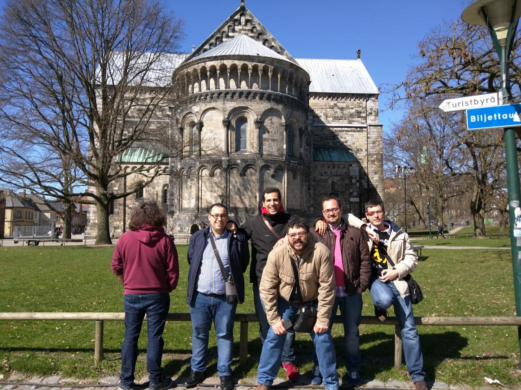 The @HackLabAl team is ready for the Nordic IoT Hackathon #nioth2015 #lund #almería http://t.co/c3oqY54Mgs