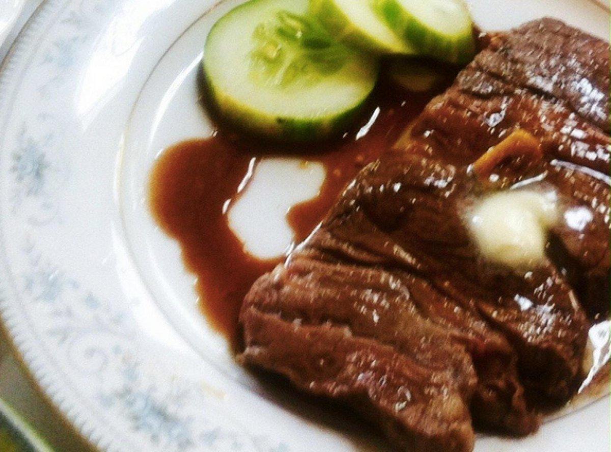 簡単おいしー♪ステーキソースレシピ→
