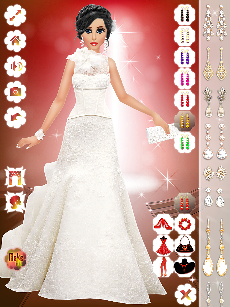 Barbie wedding makeup dress up games saubhaya makeup for Dress up games wedding