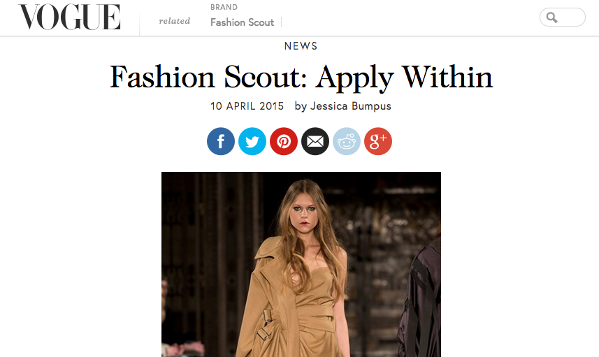 ApplIcations Now Open! @BritishVogue http://t.co/FoR04O0o8Q  #FashionScout http://t.co/TOpX0bU3ZO