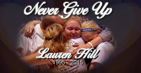 God Bless you Lauren Hill. Your courage & strength inspired a nation. RIP #layupforlauren http://t.co/HB1v2tFsCB