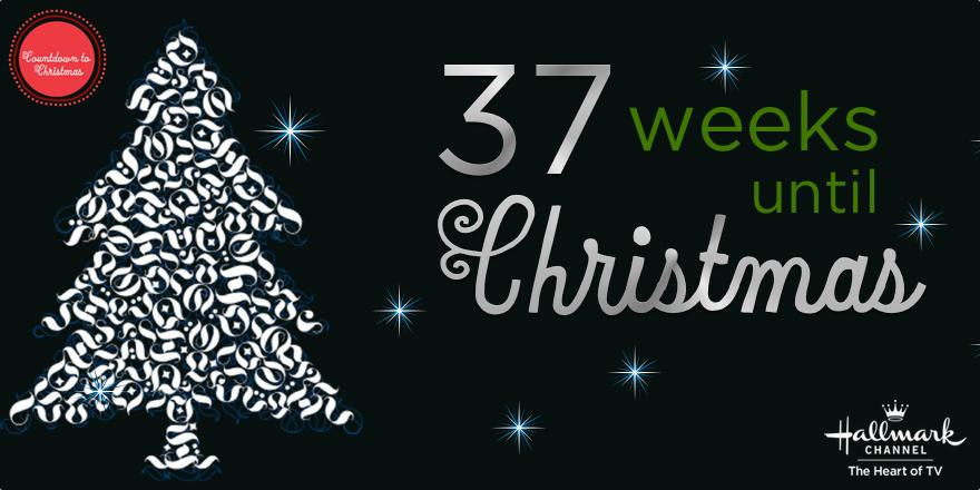 hallmark channel on twitter how many weeks until christmas 37 countdowntochristmas httptcoztbknkzp0d - How Many Weeks To Christmas