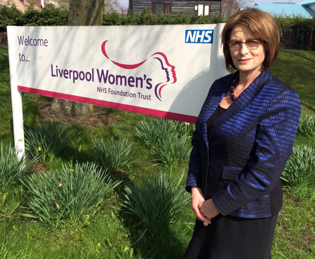 I'm backing Liverpool Women's hospital.  Key asset to city. Great to have Andy Burnham's support. http://t.co/iM5ES3808x