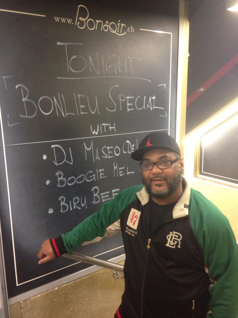 Tonight @DeLaSoulsDugout is back in town @clubbonsoir http://t.co/VKcagqwj51