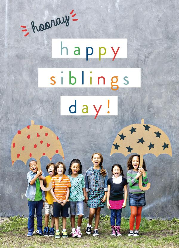 Celebrate #NationalSiblingsday with our #thesiblingsshow because #siblingsarerad https://t.co/NM5guF7PhA http://t.co/hE1LcQWOzU