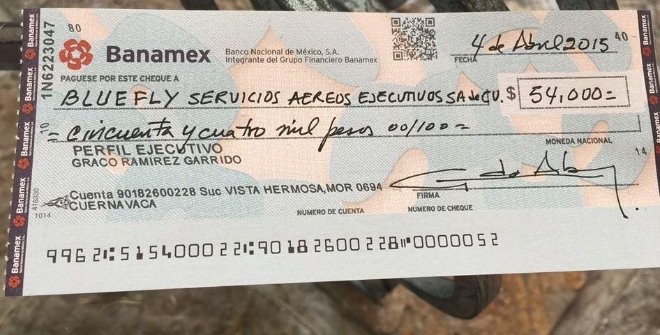 Cheque Banamex