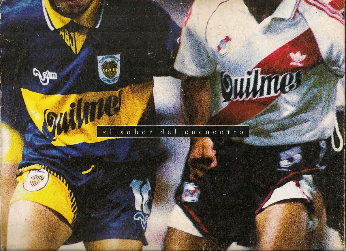 @LaCasacaBlog  #ViernesTematicoLacasaca #CasacasyPublicidades Cerveza Quilmes Boca y River año 96? http://t.co/6lVp29fenP