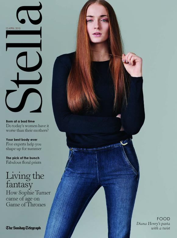 """""""I probably know Sansa Stark better than I know myself."""" Introducing this week's cover star @SophieT http://t.co/6tAueVDUkf"""