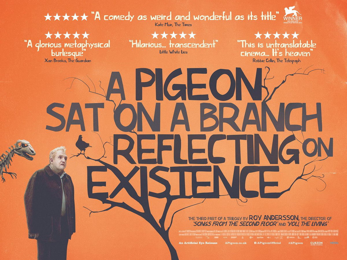 Thumbnail for A Pigeon Sat on a Branch Reflecting on Existence