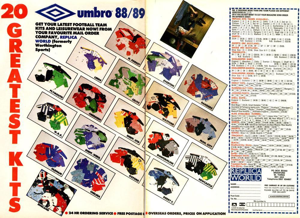 #ViernesTematicoLacasaca #CasacasyPublicidades Las colecciones de Umbro 88/89' http://t.co/KHfuSsfvs9
