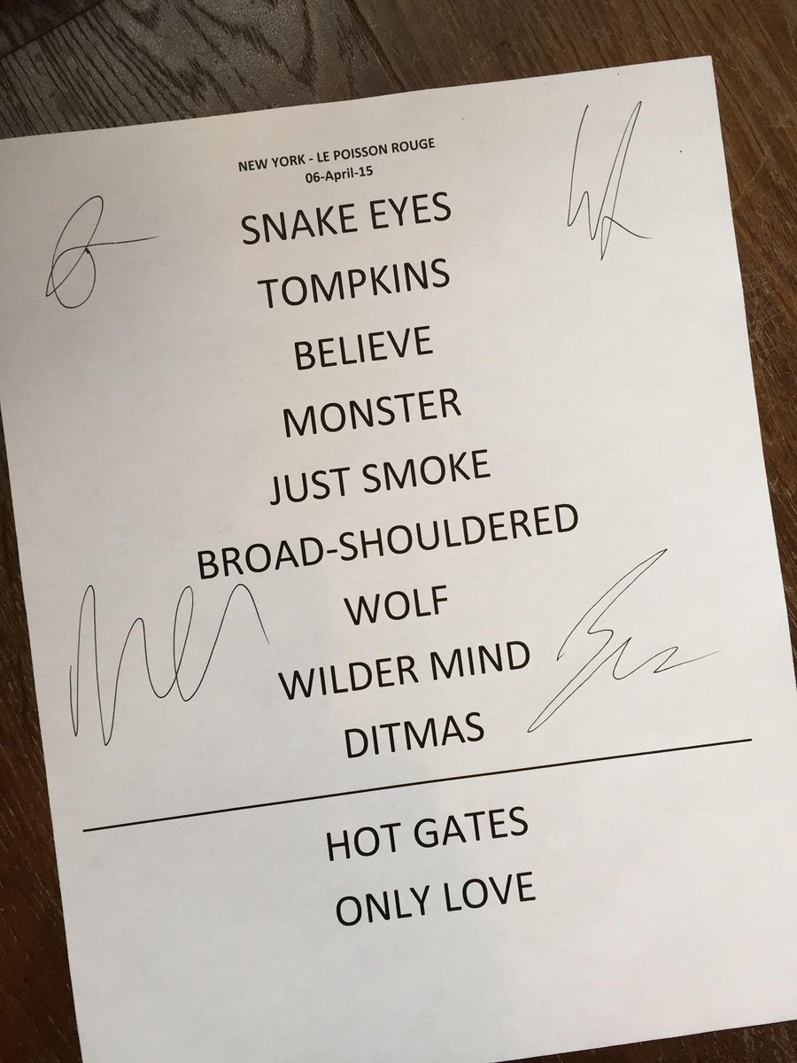 Mumford Sons On Twitter Nyc Here S A Chance To Win A Signed