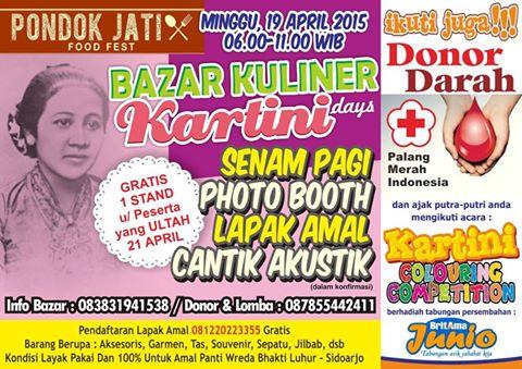 Event Jawa Timur On Twitter Donor Darah Stand Bazar Kuliner