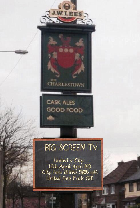 Just spotted this pub sign. http://t.co/TsL5yv1NtE
