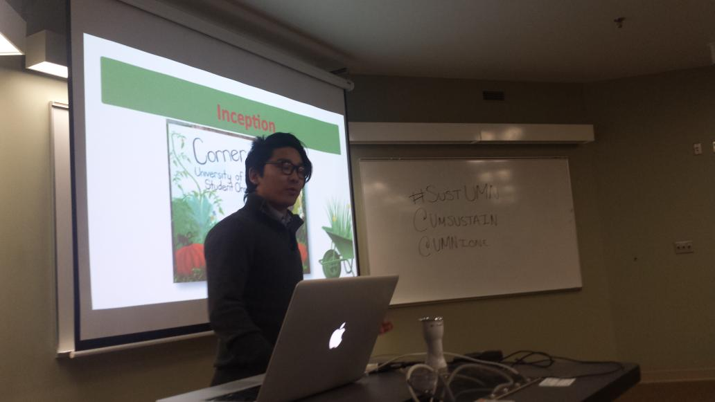 Calling out good work of our #UMN St. Paul campus organic garden @CornercopiaFarm by @TashiWGurung #sustUMN @UMNIonE http://t.co/0UCHxpKj5D