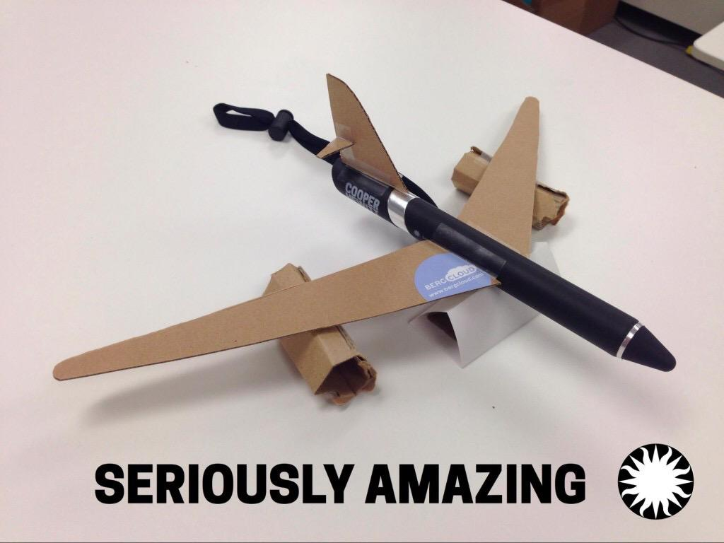 Delighted #thePen can transform into an airplane c/o @thisisaaronland @sebchan: http://t.co/pjXnlNPlPx #MW2015 http://t.co/51alciNsGD