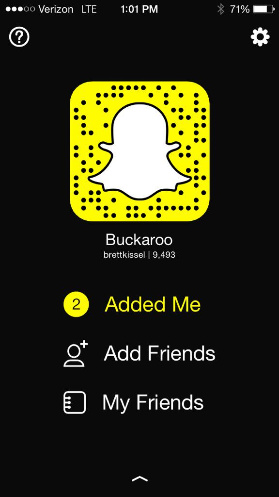 Save this Snapcode and follow us on Snapchat too