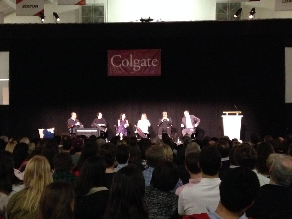 @colgateuniv Entrepreneurship Panel.  Question to them - What drives them? http://t.co/YORBIbggNj