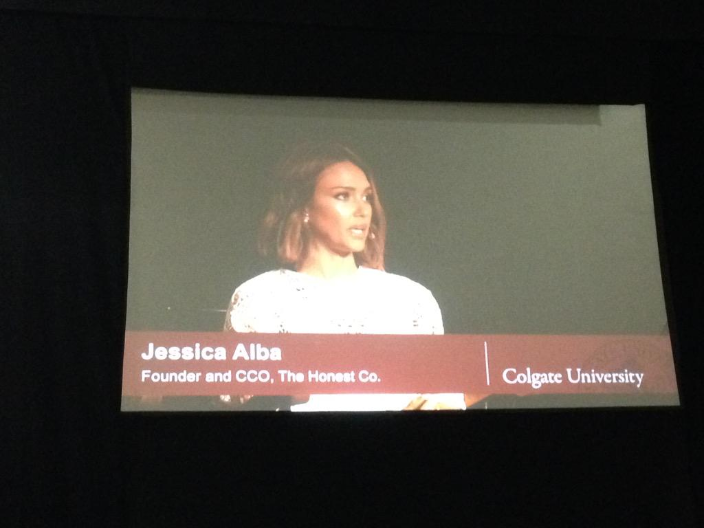 So, Jessica Alba's in Hamilton, NY. Awesome! @colgateuniv http://t.co/nVyT903roH