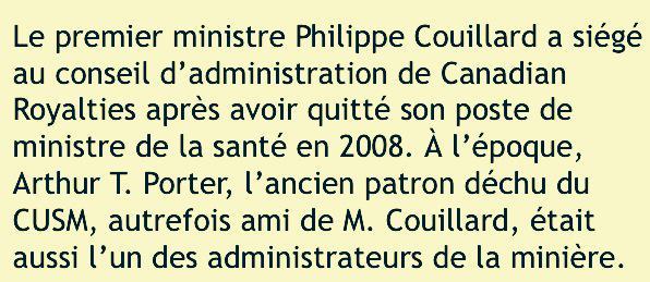 Le gouvernement Couillard va prêter 100 millions à une minière chinoise: http://t.co/WA64XrkxU6 #PolQc http://t.co/YztKcCGRI2