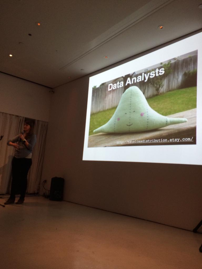 statistics and statistical plushies, awesome talk by @hspter http://t.co/Oxbt60M4Ra